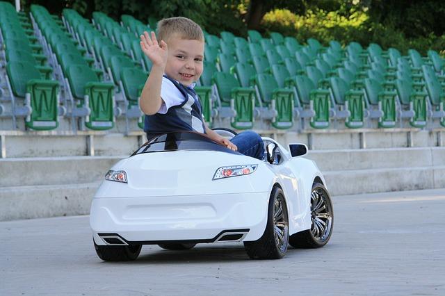 Elektrische auto kind